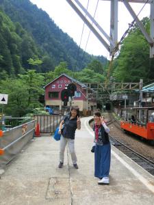 トロッコ電車と女子会